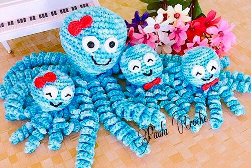 familia-de-polvos-bebe Polvo de Crochê para Prematuros
