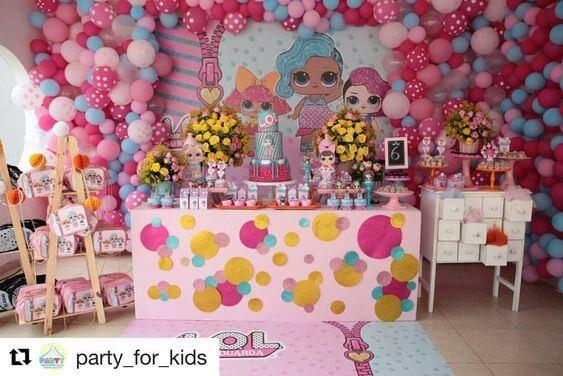 Decora 231 227 O De Festa Infantil Lol Surprise Viver Com