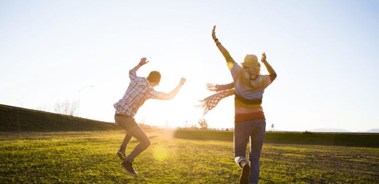 Como ser feliz na vida?