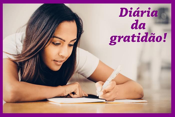 Mantenha um diário da gratidão