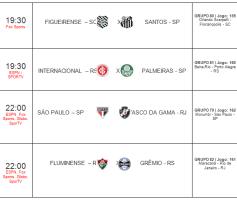 Copa do Brasil de Futebol – Quartas de final / ida