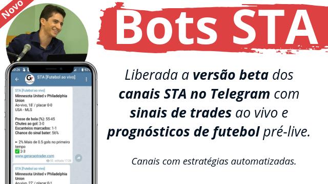 Bots com TIPs de futebol no Telegram