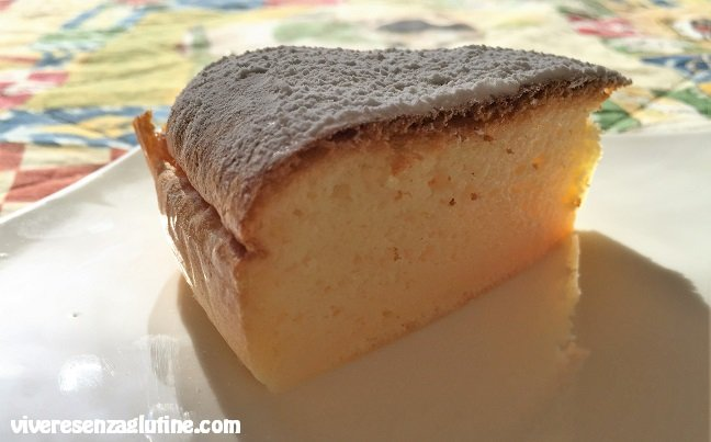 Gluten-free cotton soft cheesecake