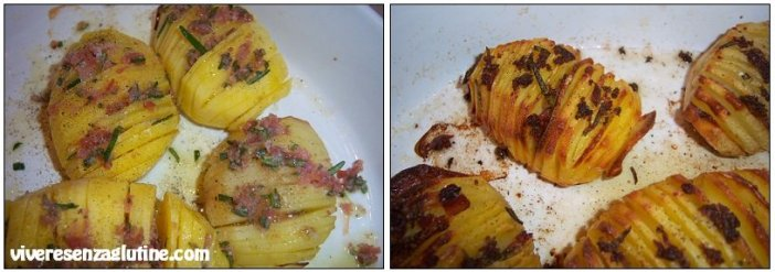 Patate Hasselback senza glutine