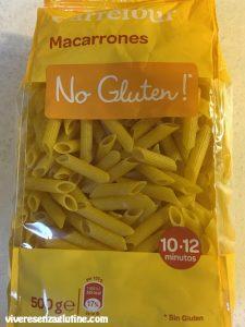 Gluten-free corn pasta - Carrefour