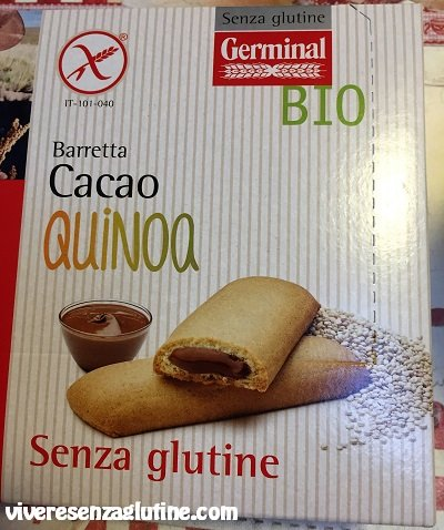 Biscotti ripieni senza glutine - Germinal Bio