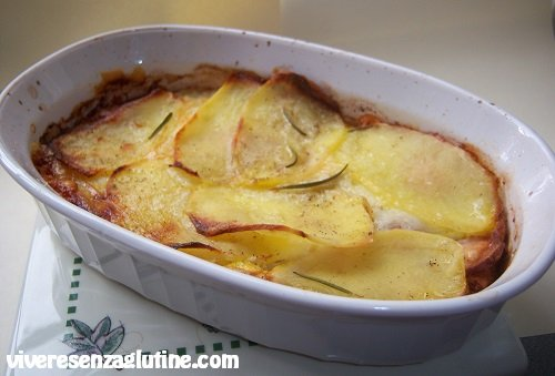 Gluten-free potato terrine