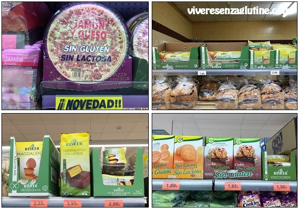 Supermarkets with gluten-free products in Tenerife