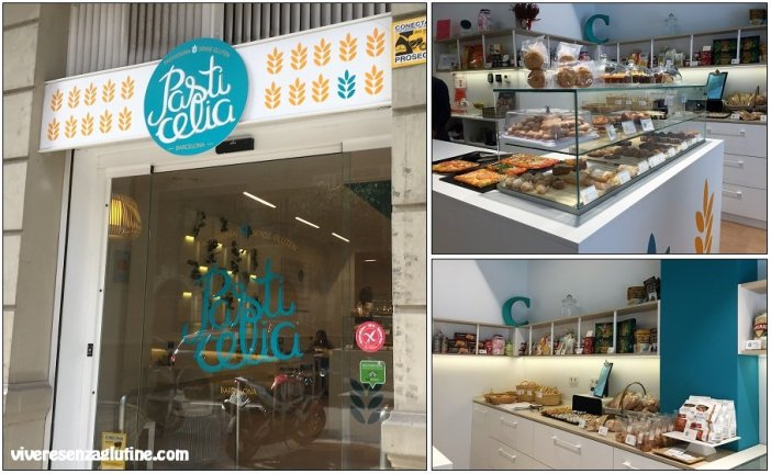 Pasticelia forno e pasticceria senza glutine a Barcellona