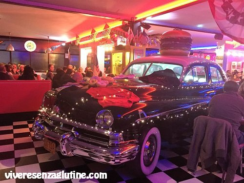 1950 American Diner with gluten-free menu