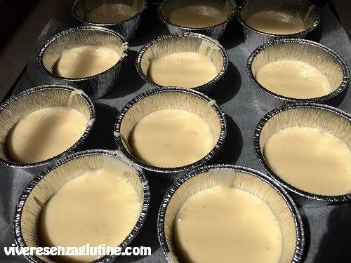 Cupcake alla panna senza glutine