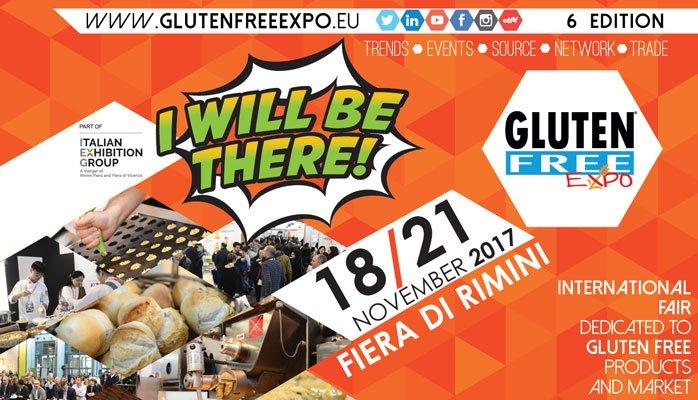 Gluten Free Expo 2017 - 6° Edizione