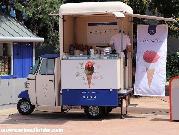 Disneyland Paris senza glutine - gelato Grom senza glutine