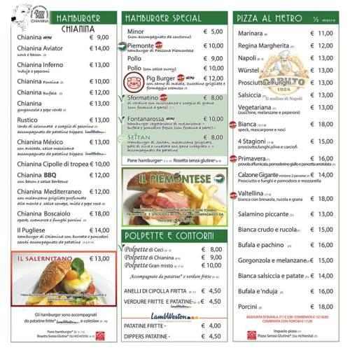Aviazione Firenze - Menù pag.1