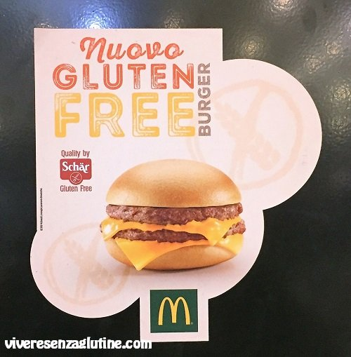 McDonald's gluten-free in Italy