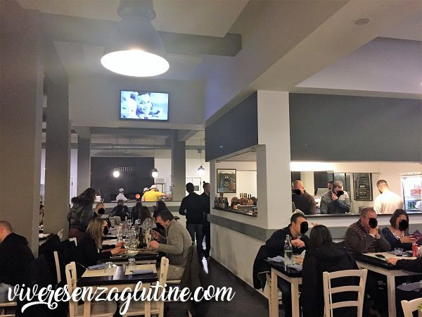 Lievito 72 gluten-free restaurant in Rome