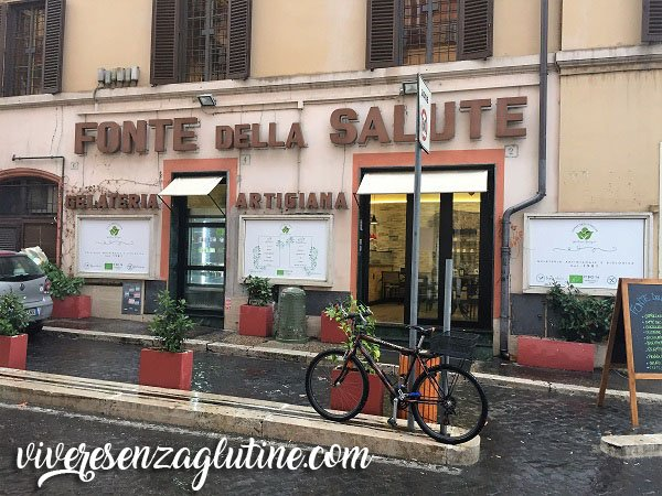 gluten-free places in Rome that we tried