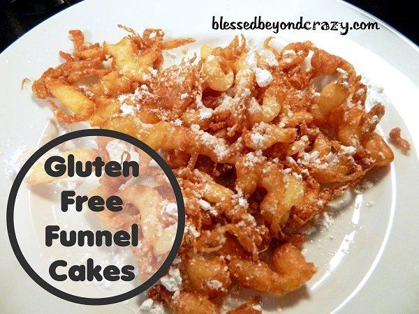 Gluten Free Funnel Cakes