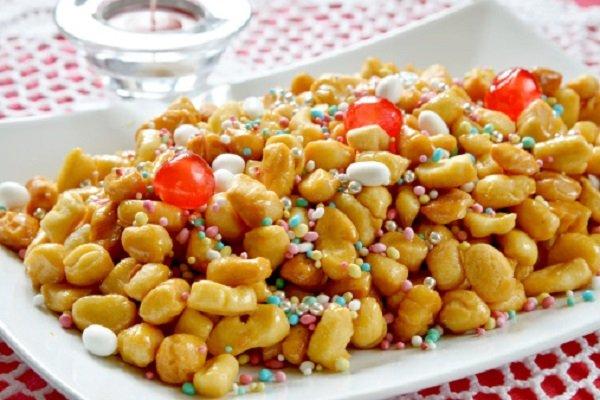 Struffoli, dolce di Carnevale senza glutine