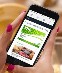 Vivere Senza Glutine discount card presentation