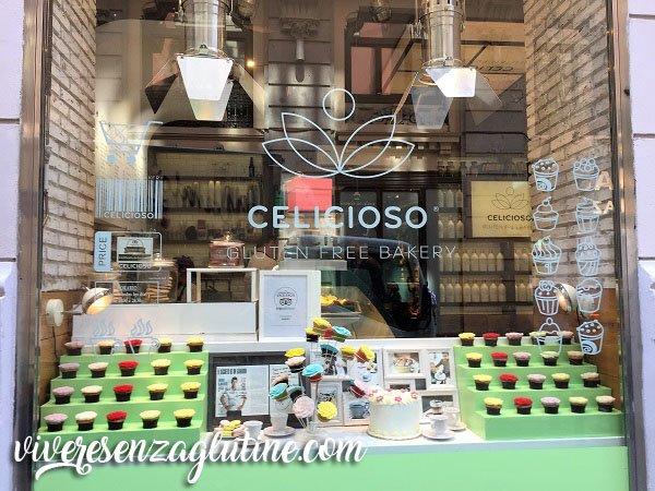 Gluten free restaurants and bakeries in Madrid