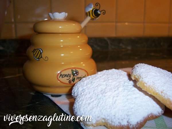 Gluten-free honey cookies