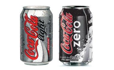 Coca Cola light e zero