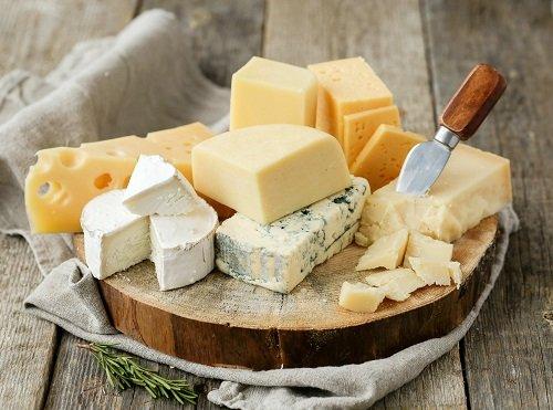 gluten-free diet - gluten-free cheeses