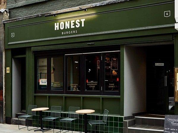 Honest Burgers - ristorante senza glutine a Londra