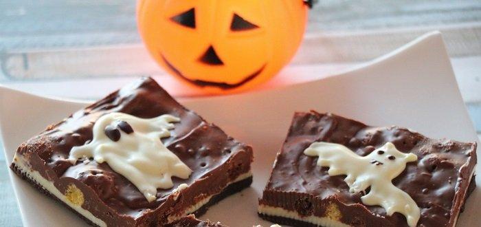 cioccolata a strati di Halloween senza glutine