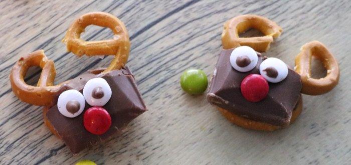 Ciocco-salatini senza glutine Rudolph la renna