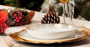 Menù di Natale senza glutine a base di carne