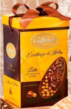 uova di cioccolato senza glutine Caffarel
