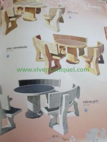 muebles de piedra – Viveros Miquel