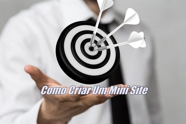 Como Criar Um Mini Site