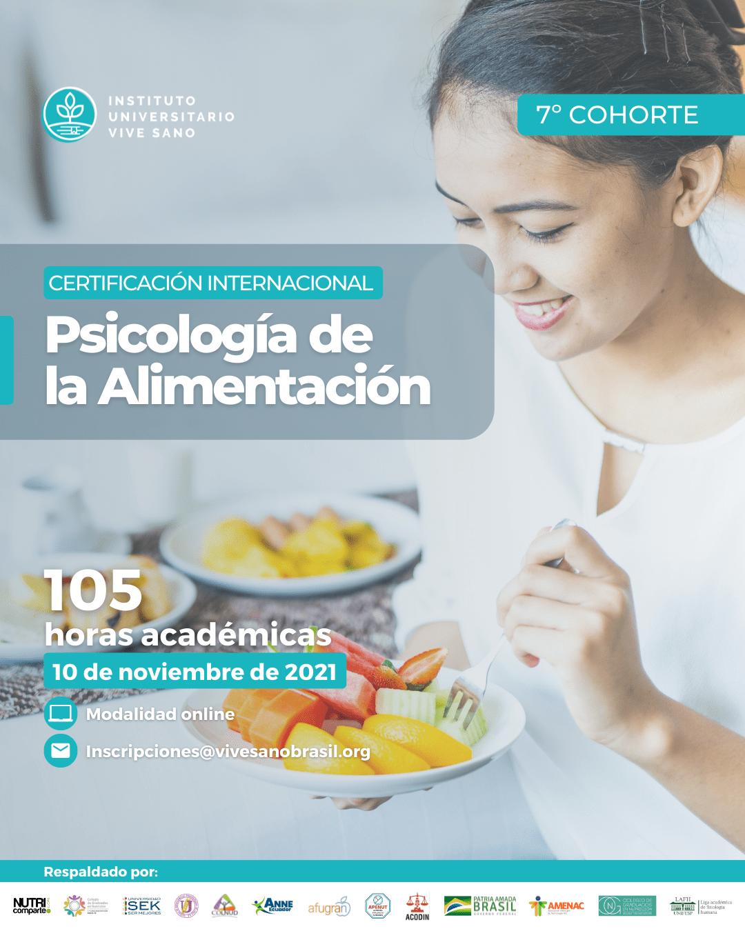 Psicología de la Alimentación – Afiche
