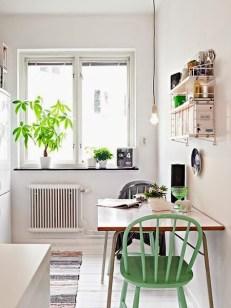silla verde para decorar