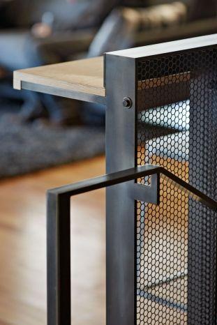 diseño de mobiliairio de diseño en hierro