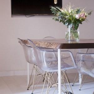 silla de diseño plexiglass acrilica