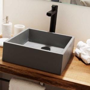 lavabo de microcemento