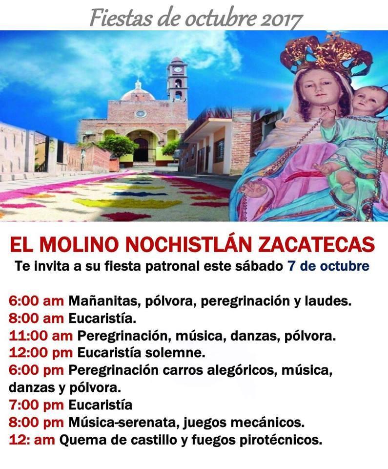 Fiestas Patronales en El Molino