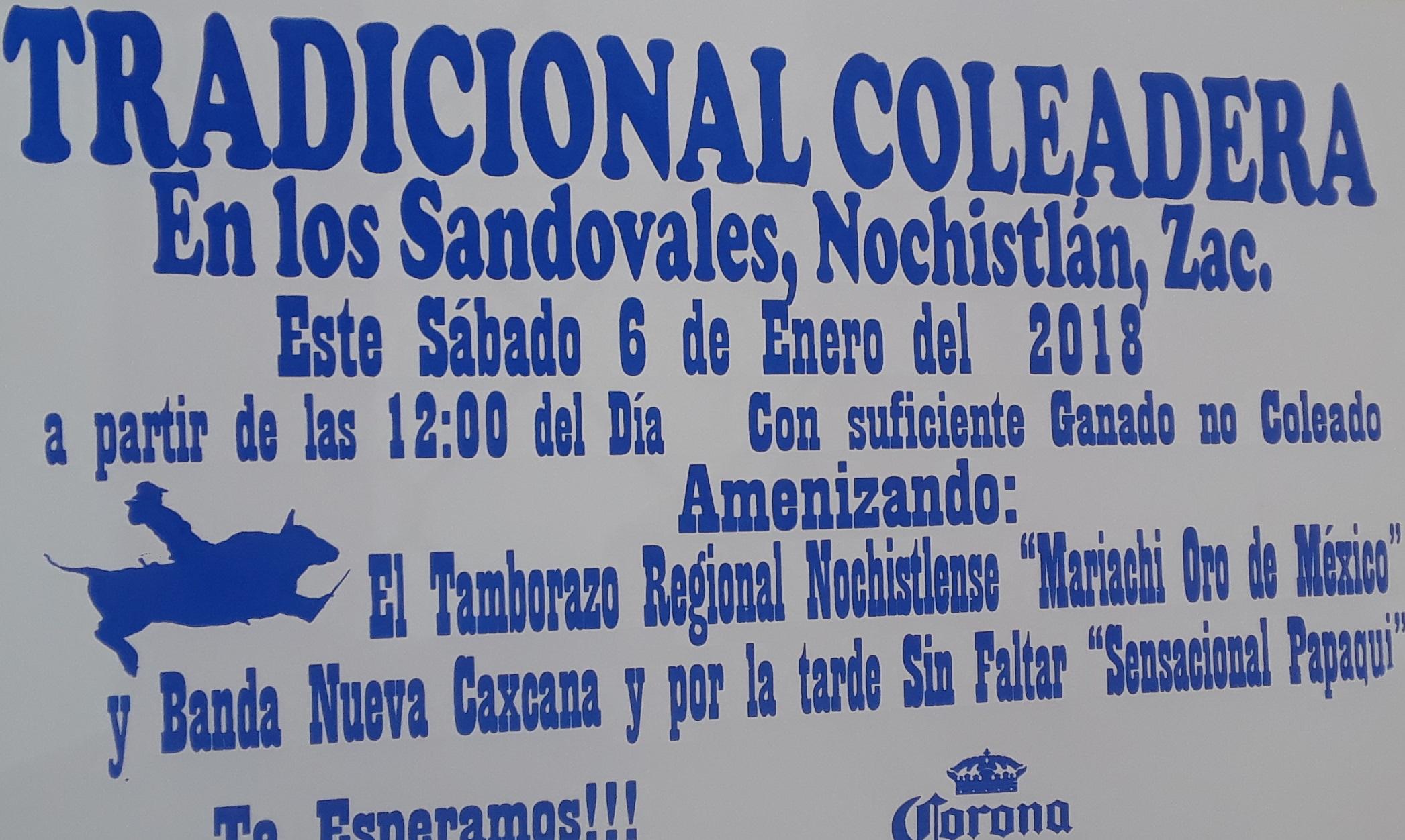 Coleadera de Los Sandovales, toda una tradición