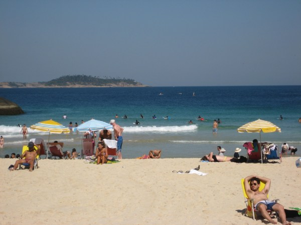 Ipanema beach - surf lessons