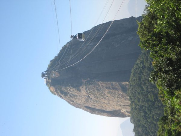 A view to the Sugarloaf