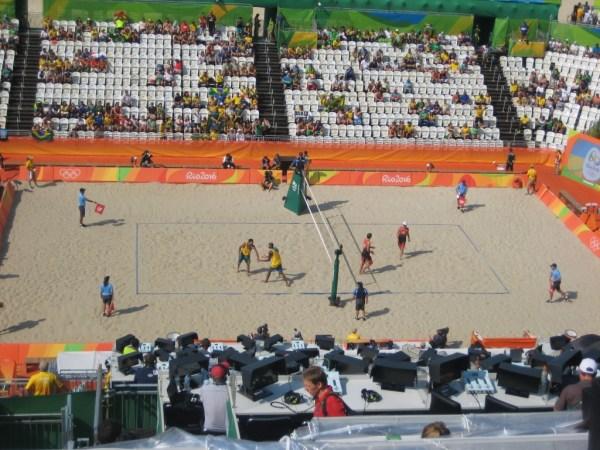 Brazil vs Canada beach volley 2