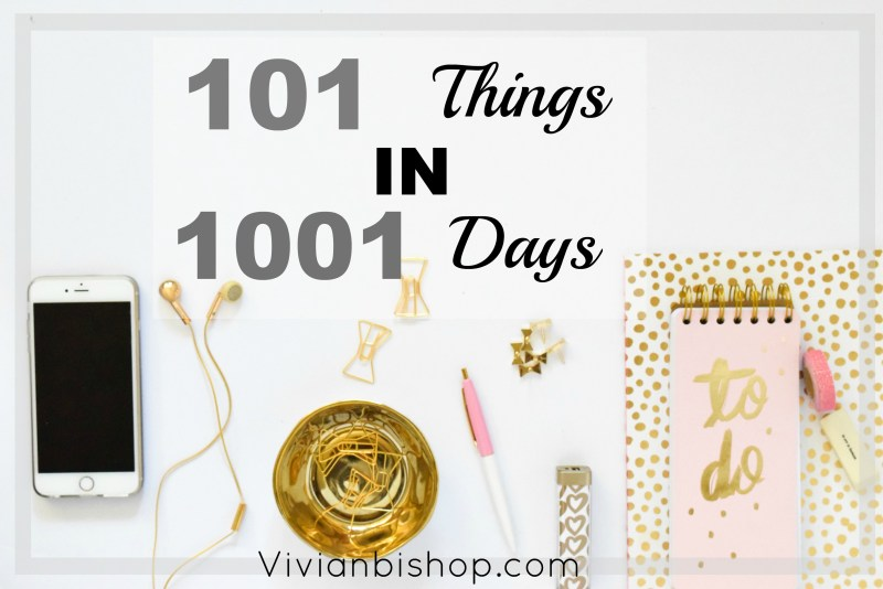 101 in 1001 Days | May 2017