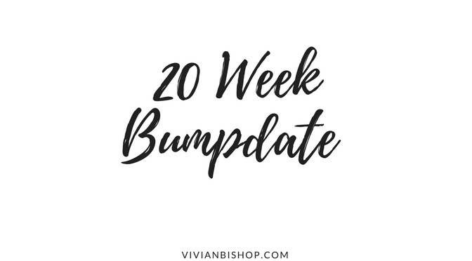 20 Week Bumpdate & Gender Reveal
