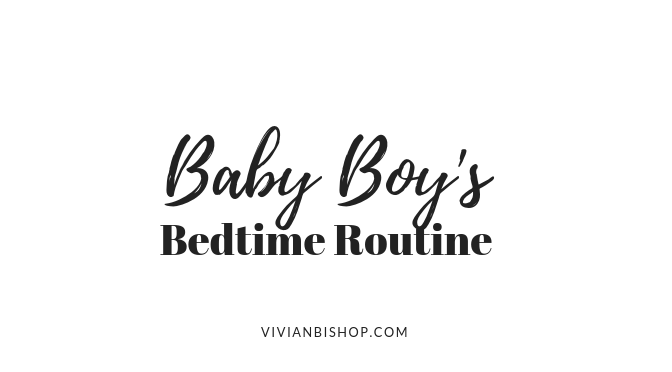 Baby's Bedtime Routine