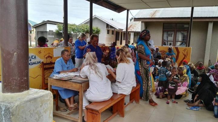 En uke på helsestasjonen – Tanzania