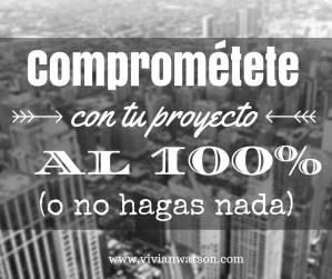 Comprométete o no hagas nada